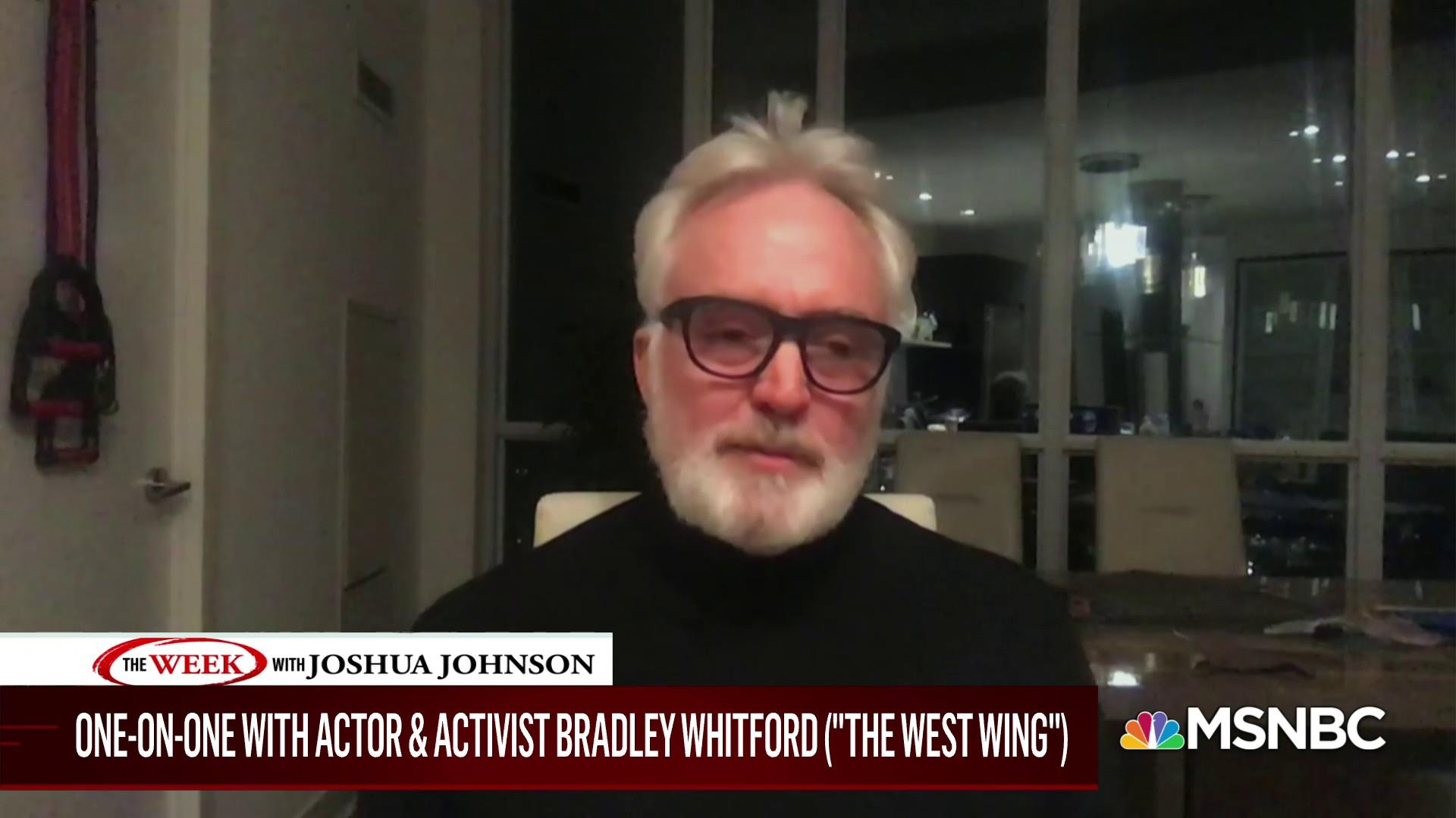 "After ""West Wing"" reunion episode, actor Bradley Whitford talks about the state of politics in 2020 thumbnail"