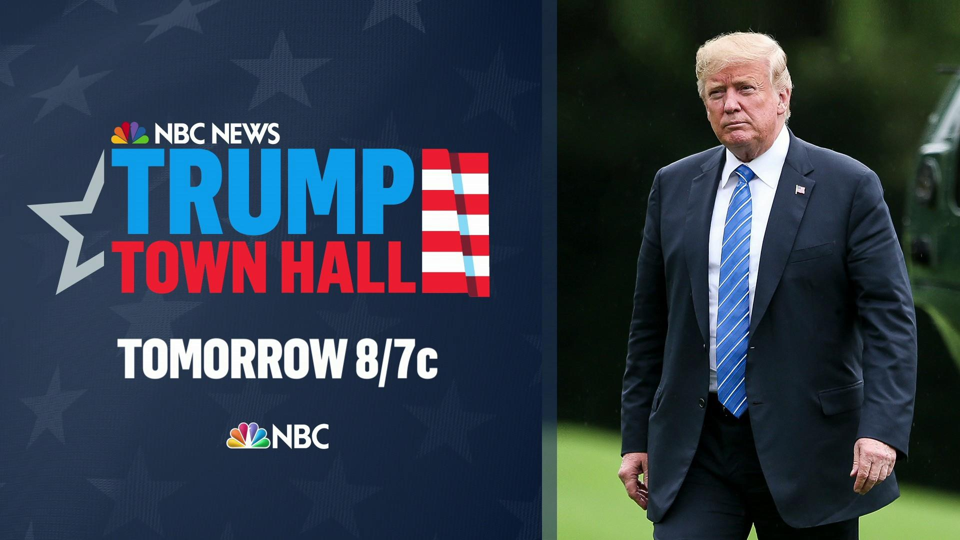 NBC News to host town hall with Trump ...