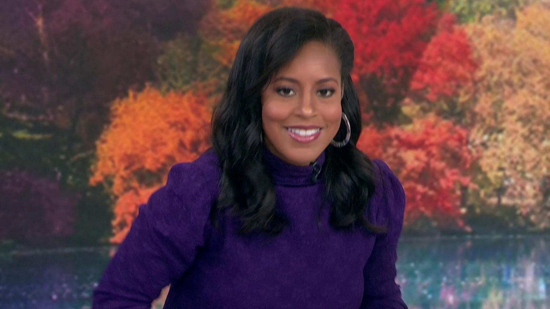 Sheinelle Jones reveals why she wore her dress backward on 3rd hour of TODAY