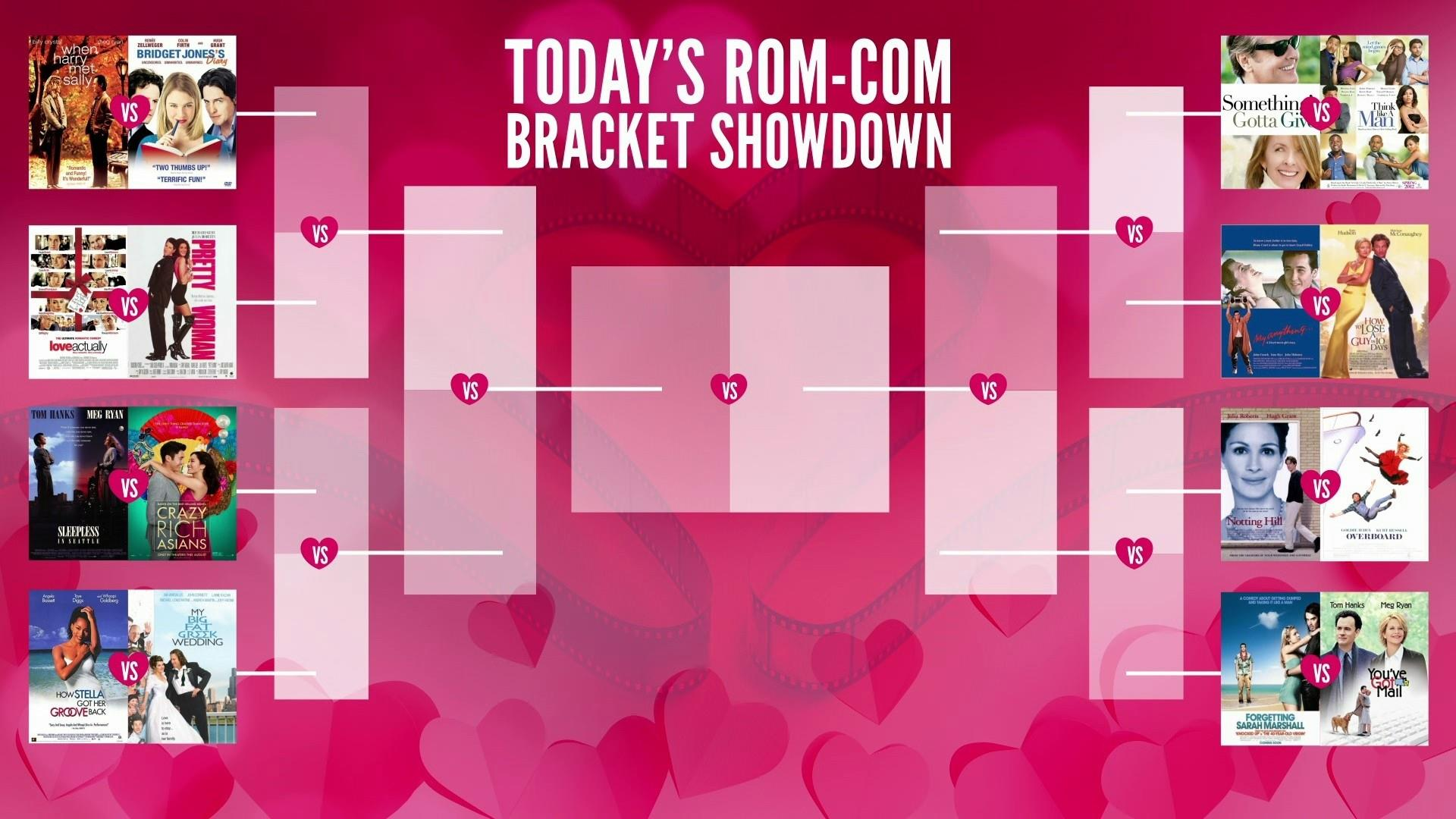 Today S Rom Com Bracket Showdown Vote For Your Favorite