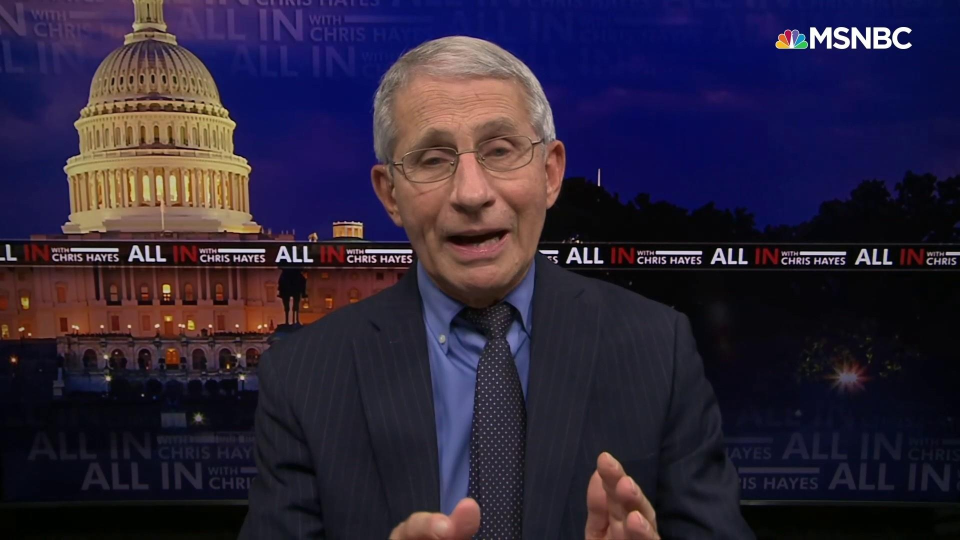 <p>Dr. Fauci: How to Prevent another Covid surge in the U.S. thumbnail