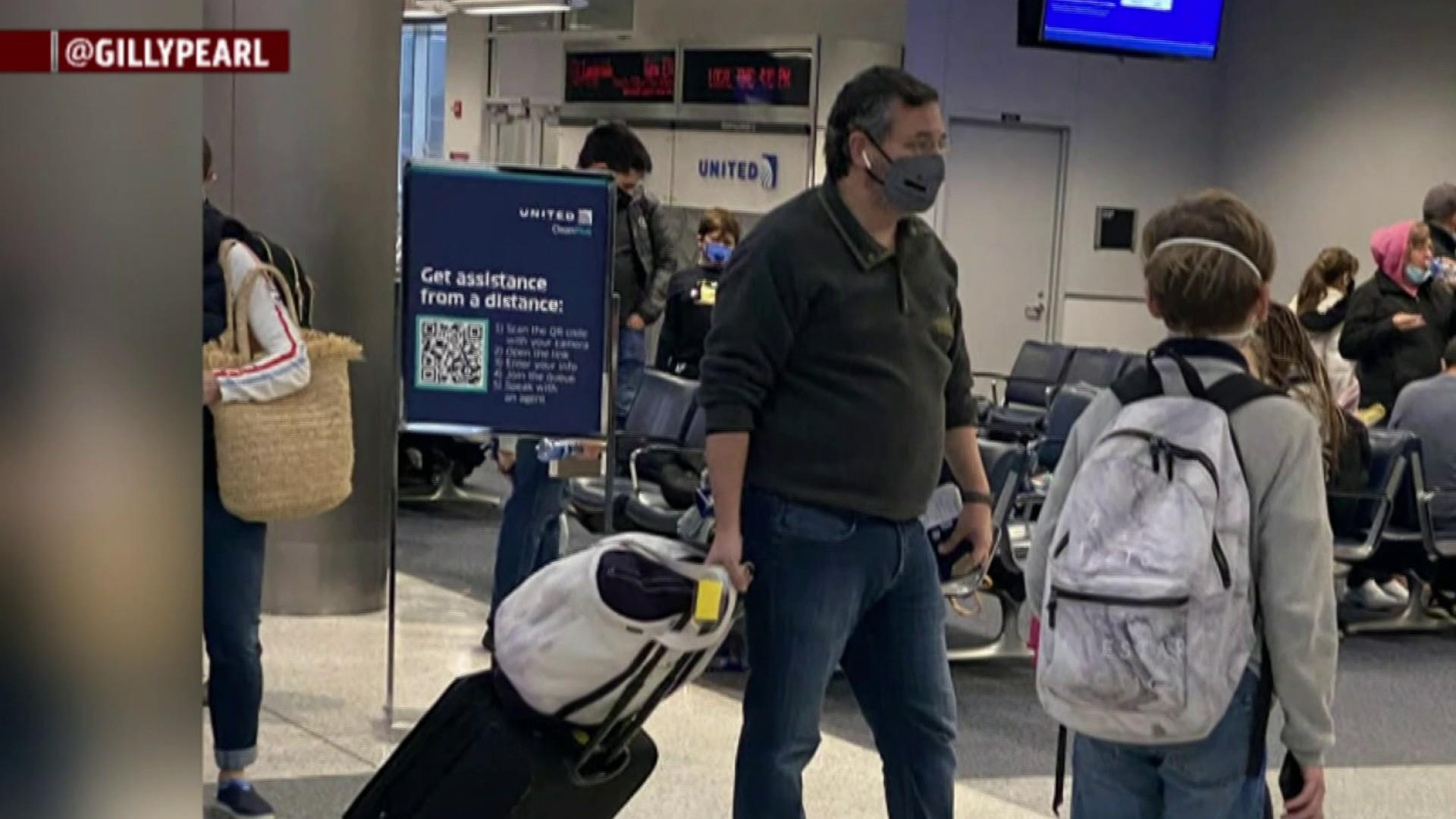Sen. Cruz says trip to Cancun was'a mistake' thumbnail