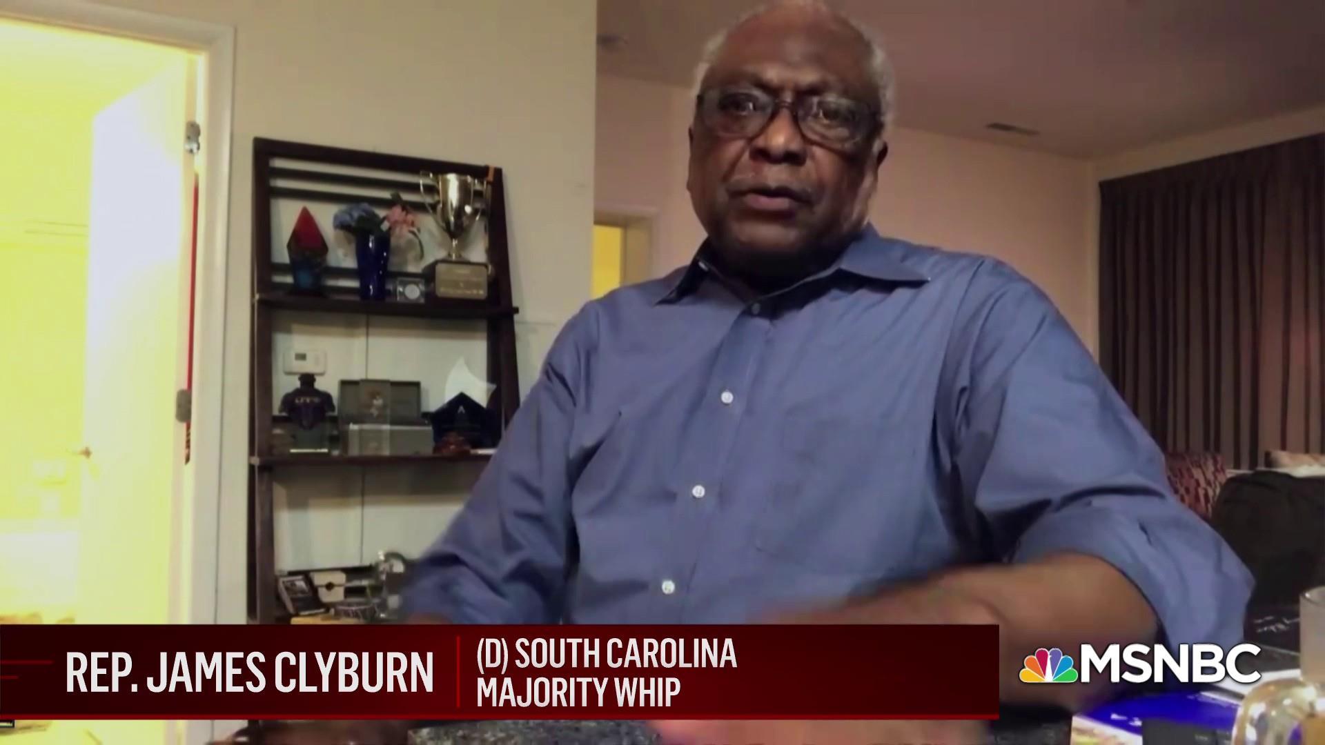 House Majority Whip Jim Clyburn on Senate prospects for voting rights legislation thumbnail