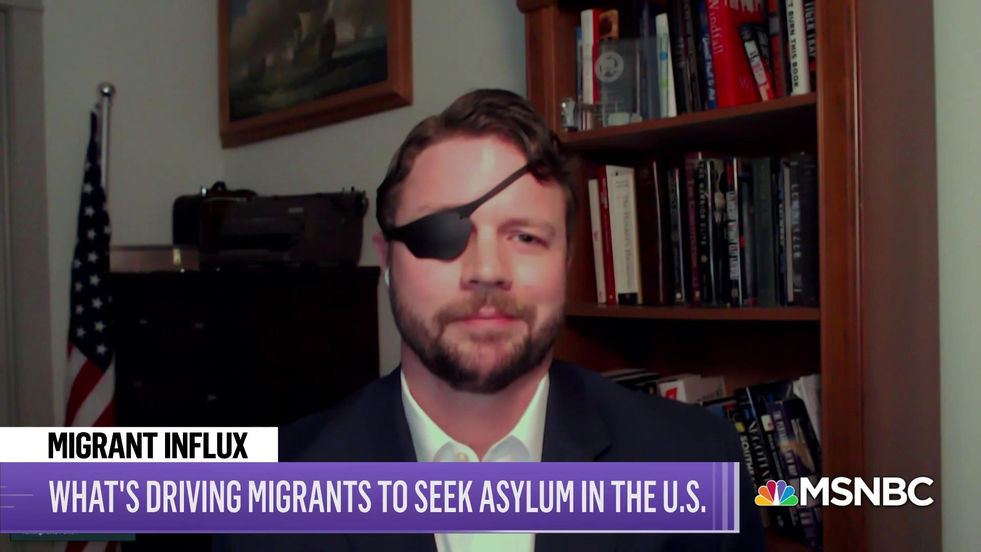 GOP Rep. Dan Crenshaw talks Biden immigration policy thumbnail