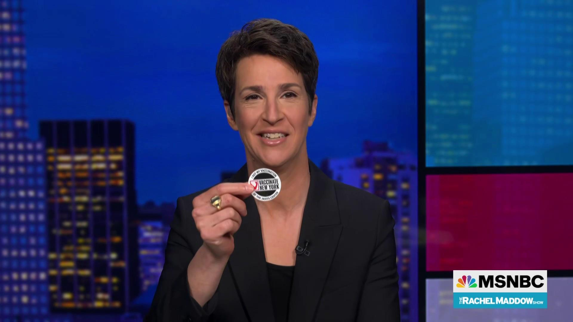 Maddow: Set your worries apart and get vaccinated.  Can it be for others or even for yourself. thumbnail