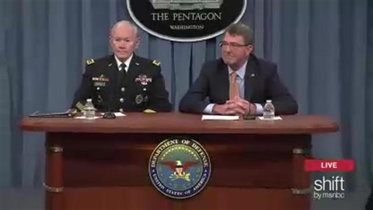 Dempsey & Carter hold Pentagon briefing