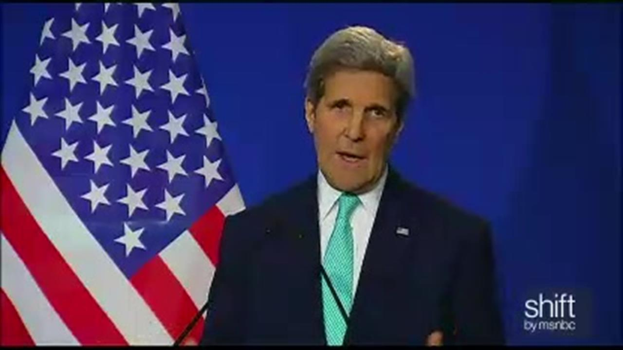 Kerry outlines framework of Iran deal