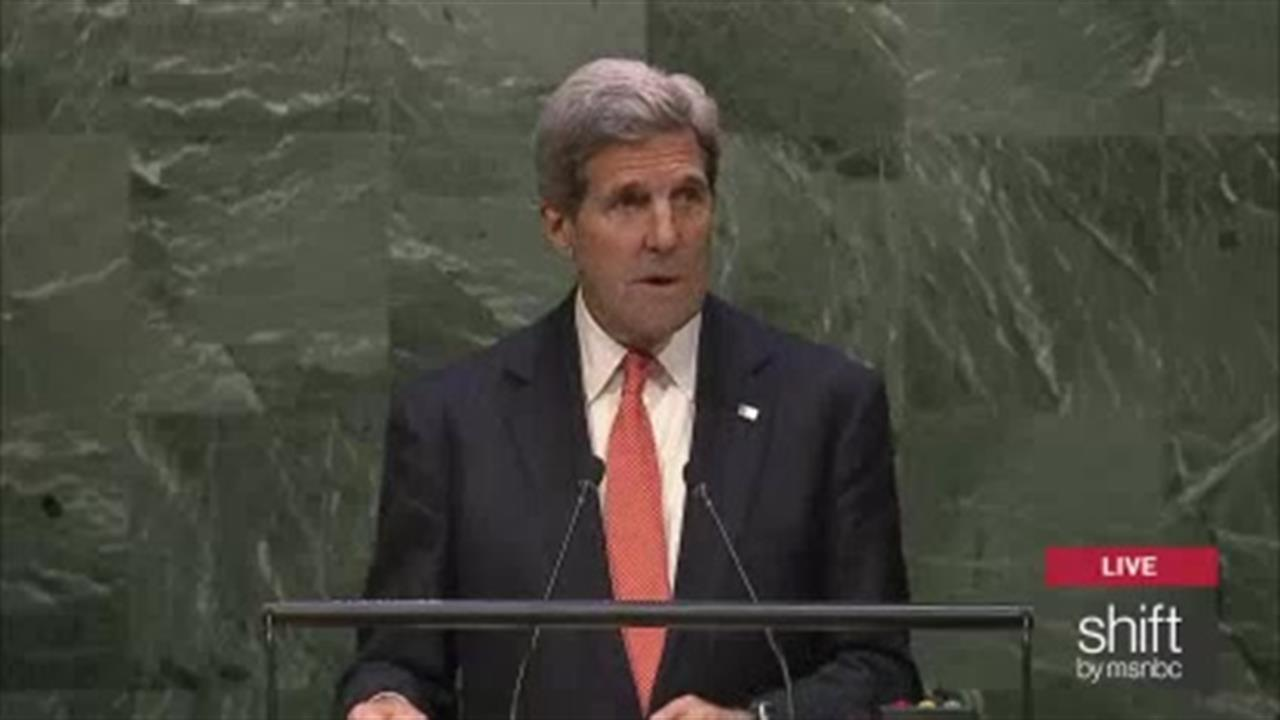 Kerry on nuclear disarmament at U.N.