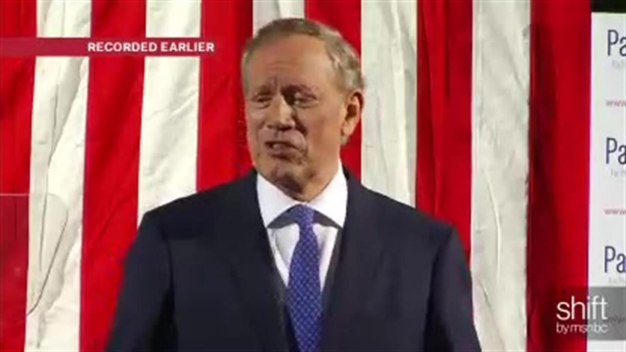 George Pataki enters presidential race