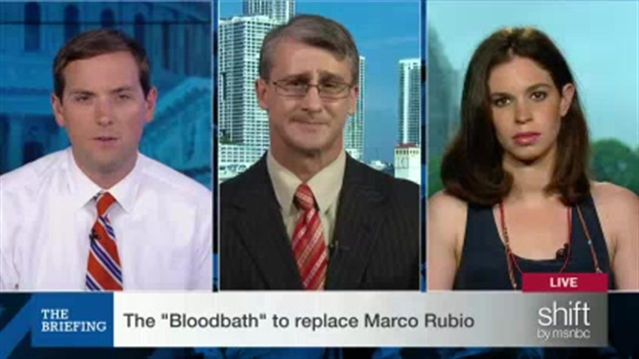 The Briefing: Who will replace Rubio?