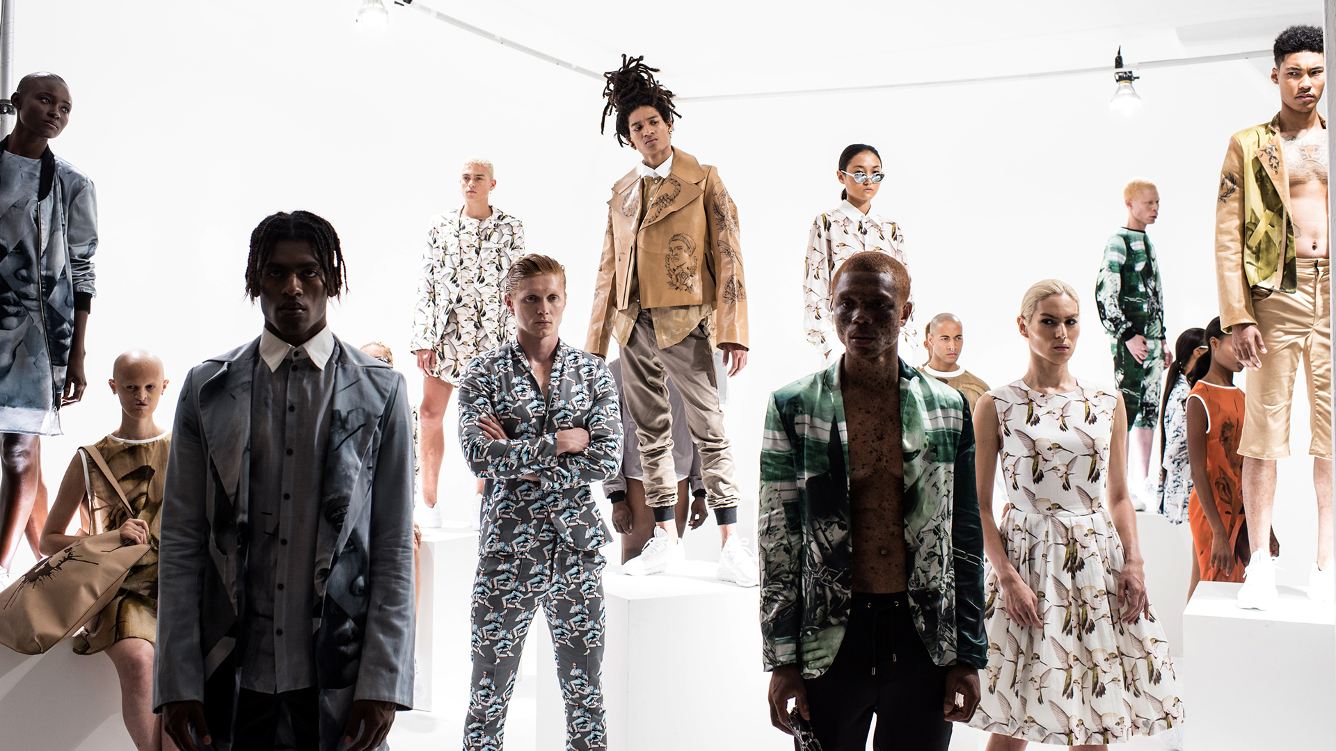 Young Gifted Black Meet Fashion Designer And Model Shaun Ross