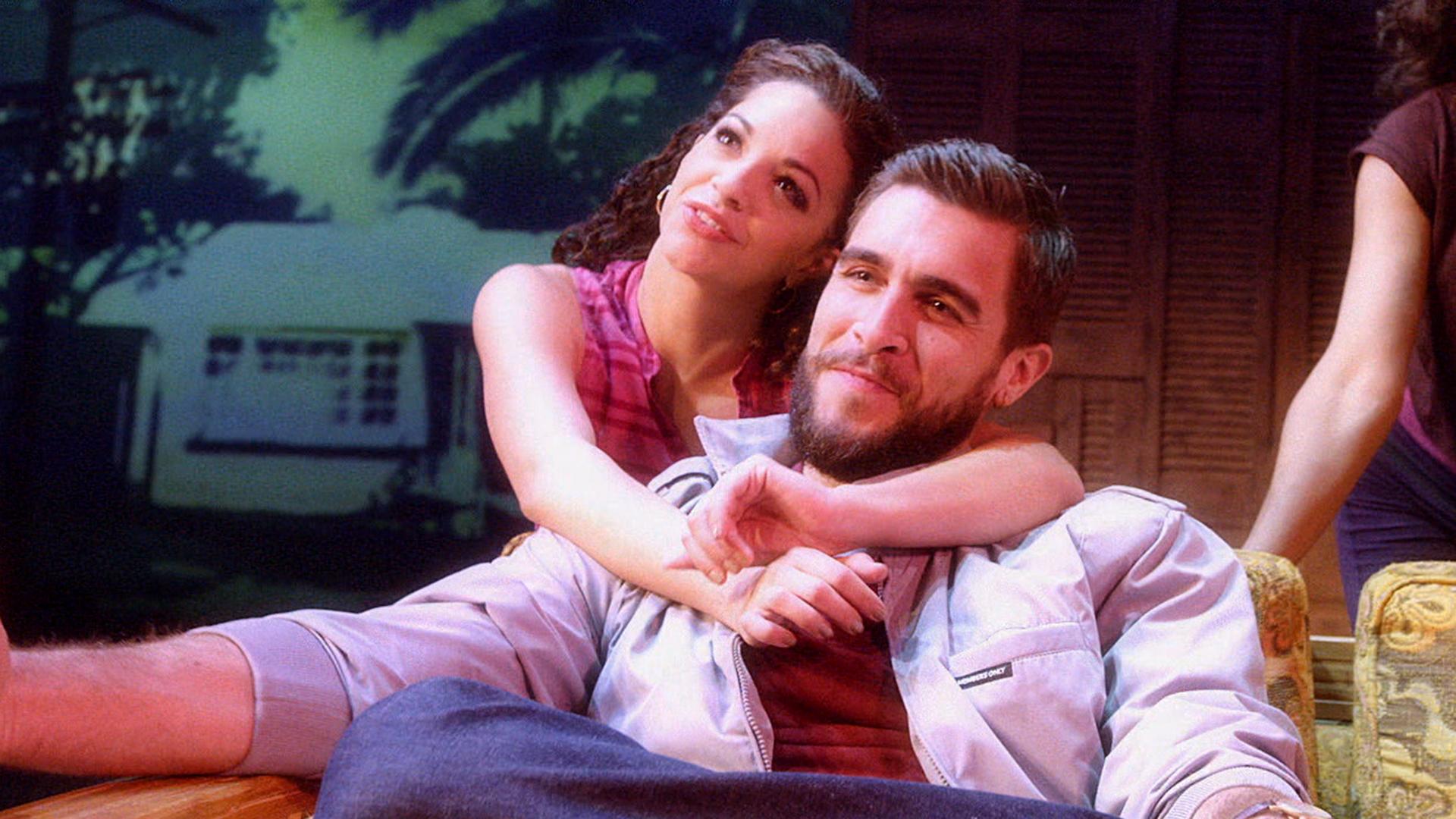 On Your Feet Broadways Proud Latinos Ana Villafañe Josh Segarra