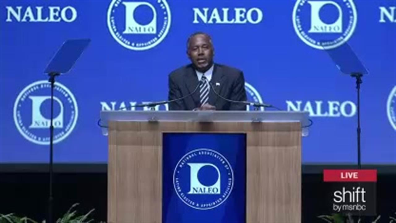 Dr. Ben Carson addresses NALEO