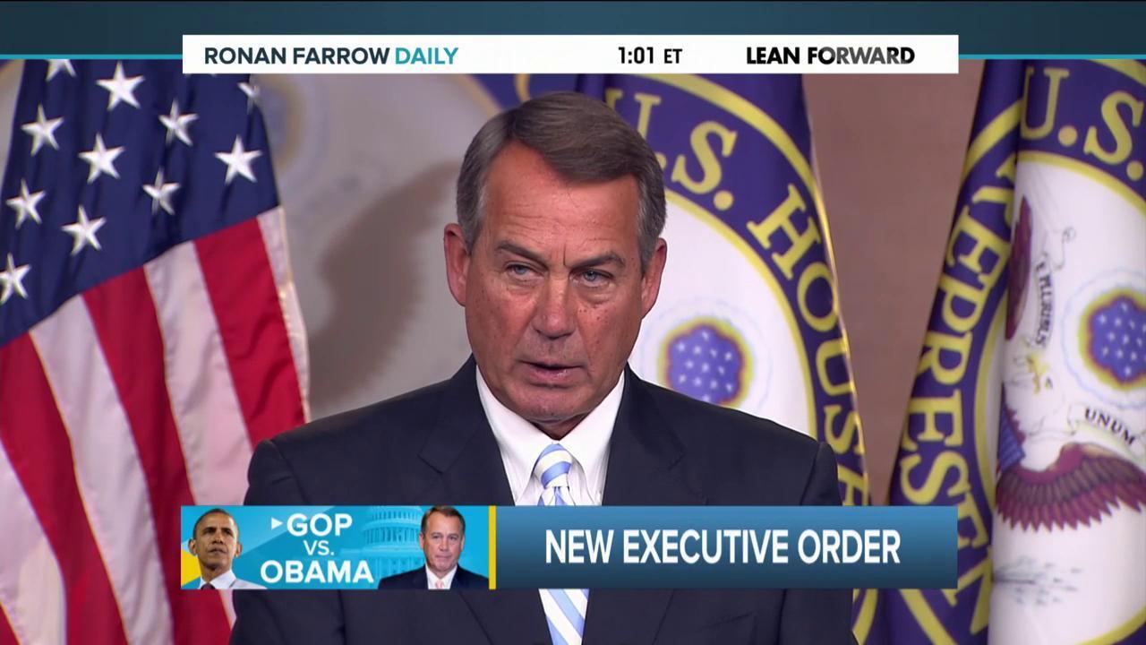 Making sense of Boehner's lawsuit
