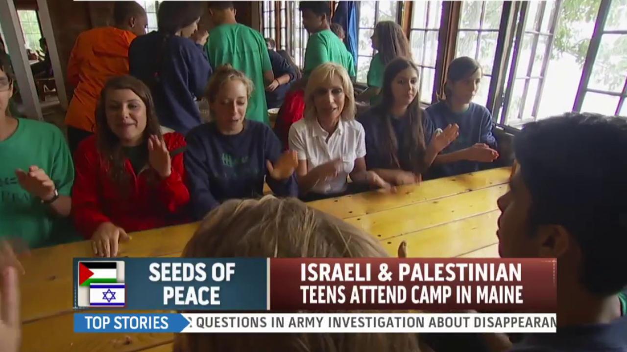 Seeds of Peace camp promotes dialogue