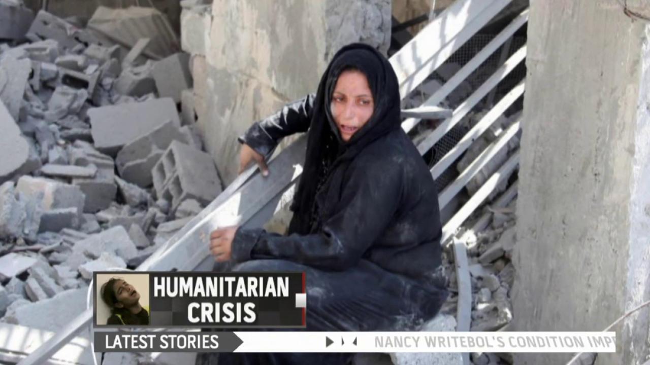 Gaza's growing humanitarian crisis