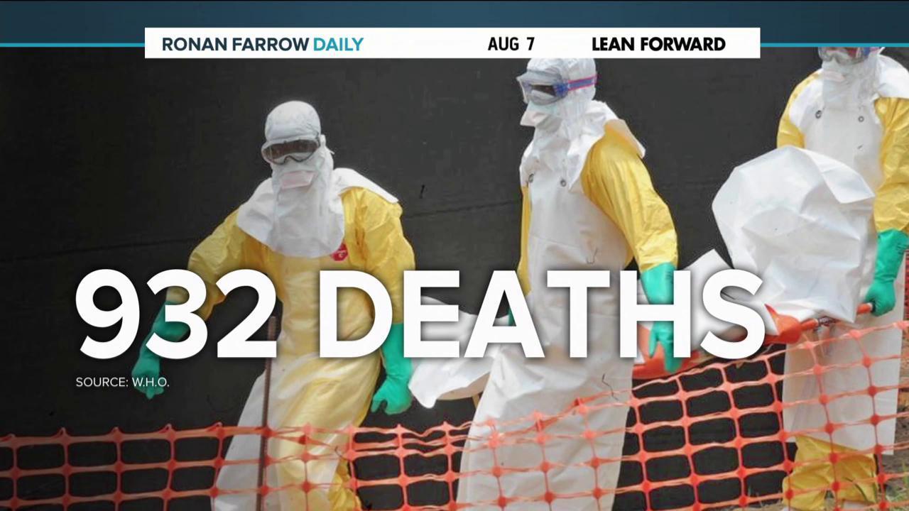 CDC on highest alert amid Ebola outbreak