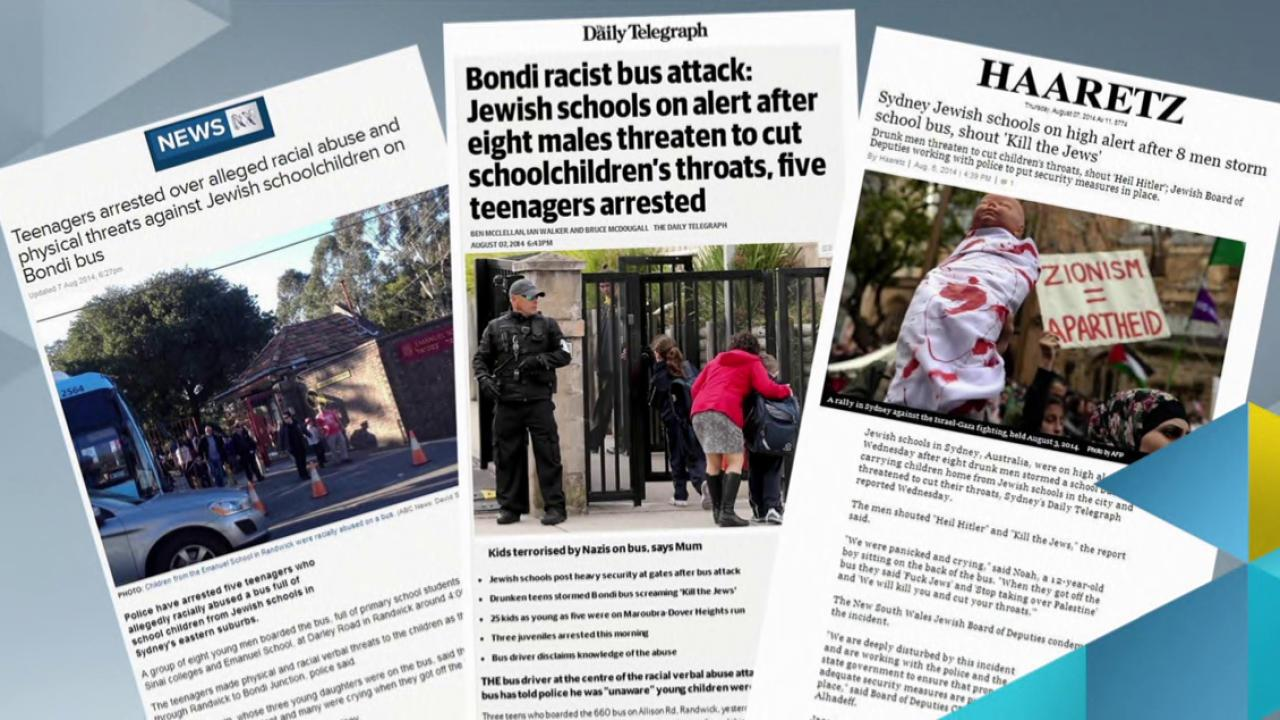 Anti-Semitic attacks on the rise?