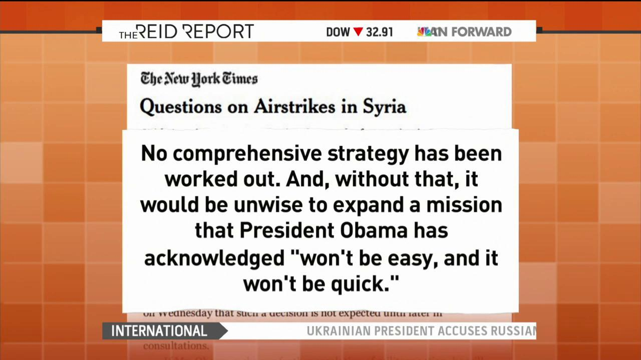 U.S. planes gather intelligence over Syria