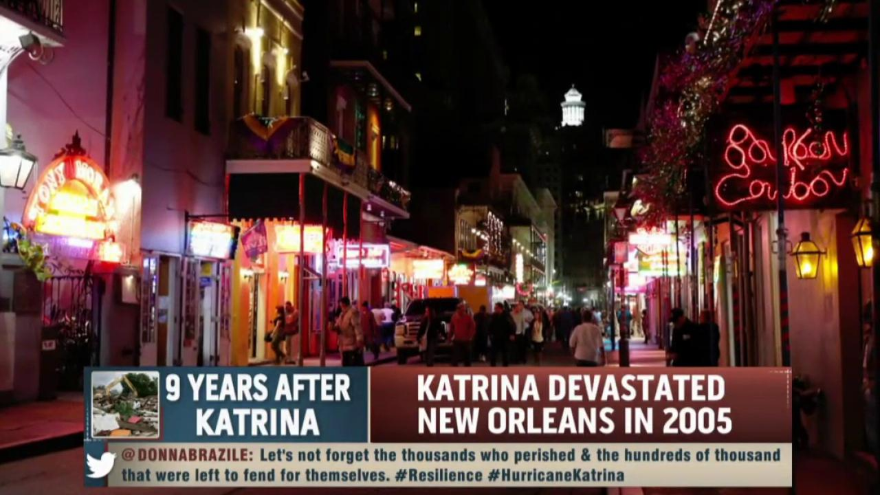 New Orleans, nine years after Katrina