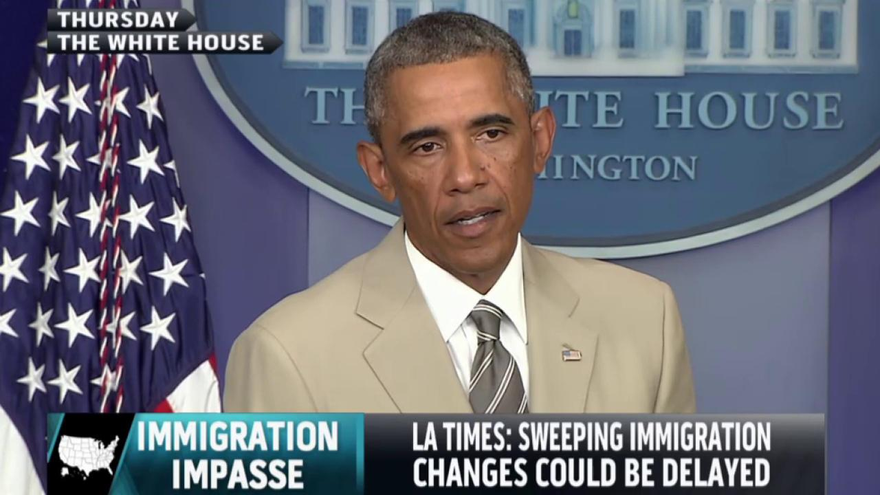 Could immigration changes be delayed?