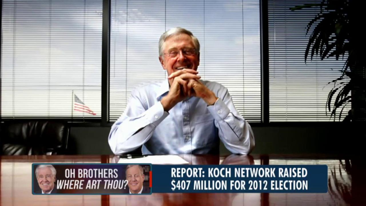The political reach of the Koch network