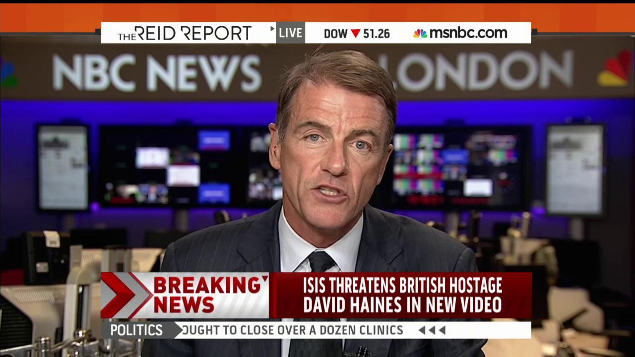 Int'l outrage to reported ISIS video