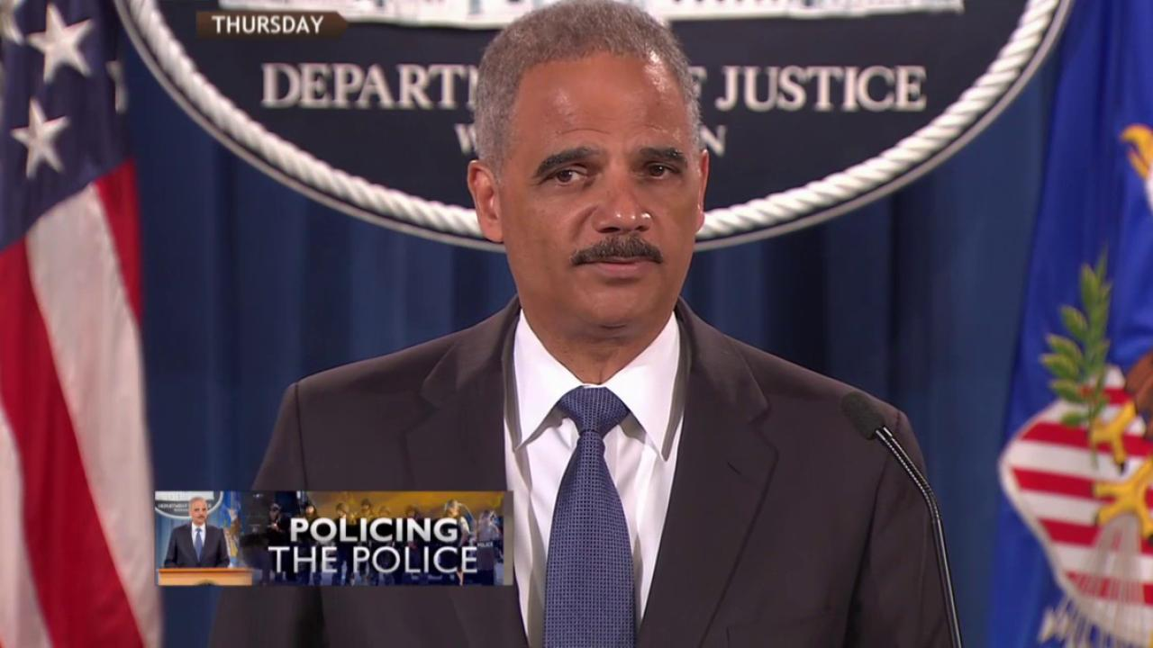 DOJ launches investigation of Ferguson police