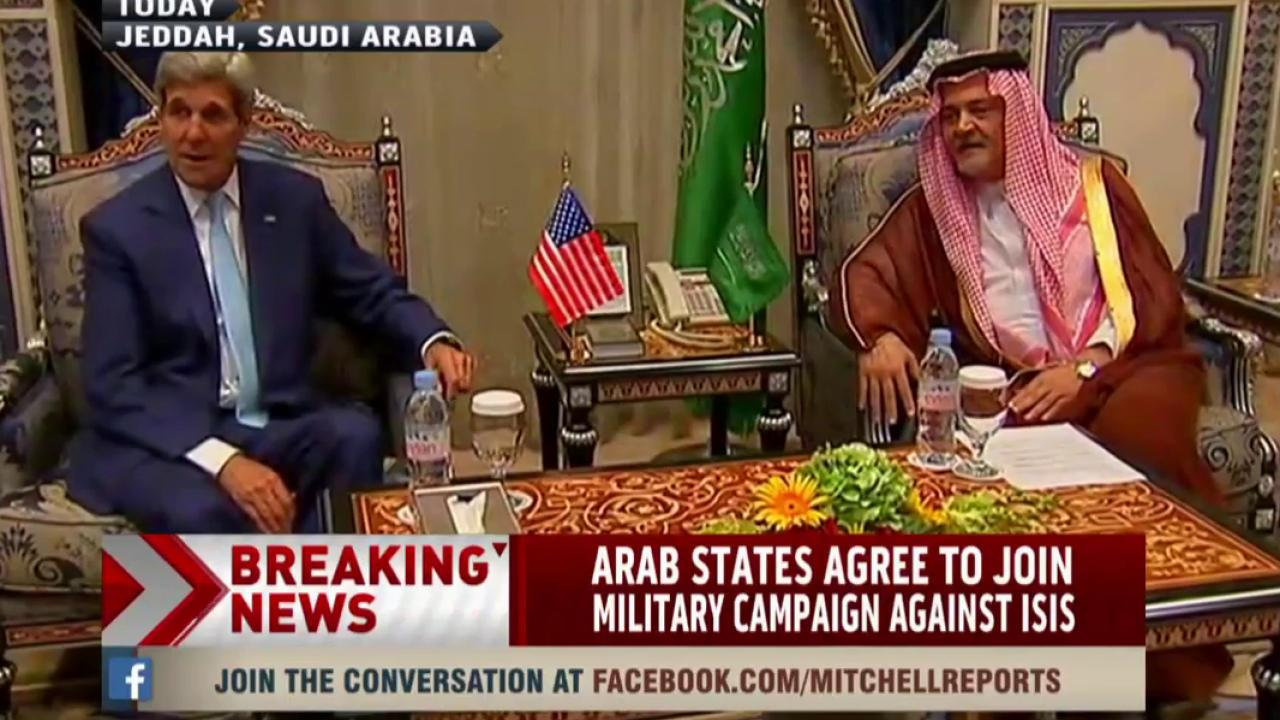 Arab states agree to join campaign against...