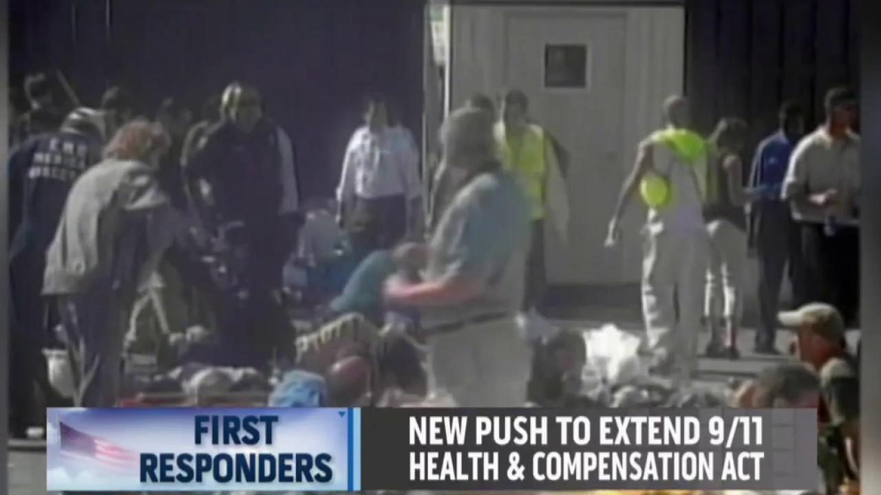 Extending 9/11 health act for survivors