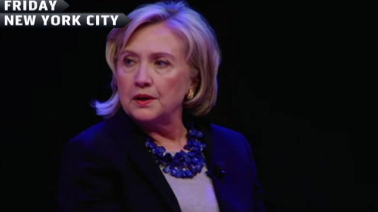 The Clintons' big return to Iowa