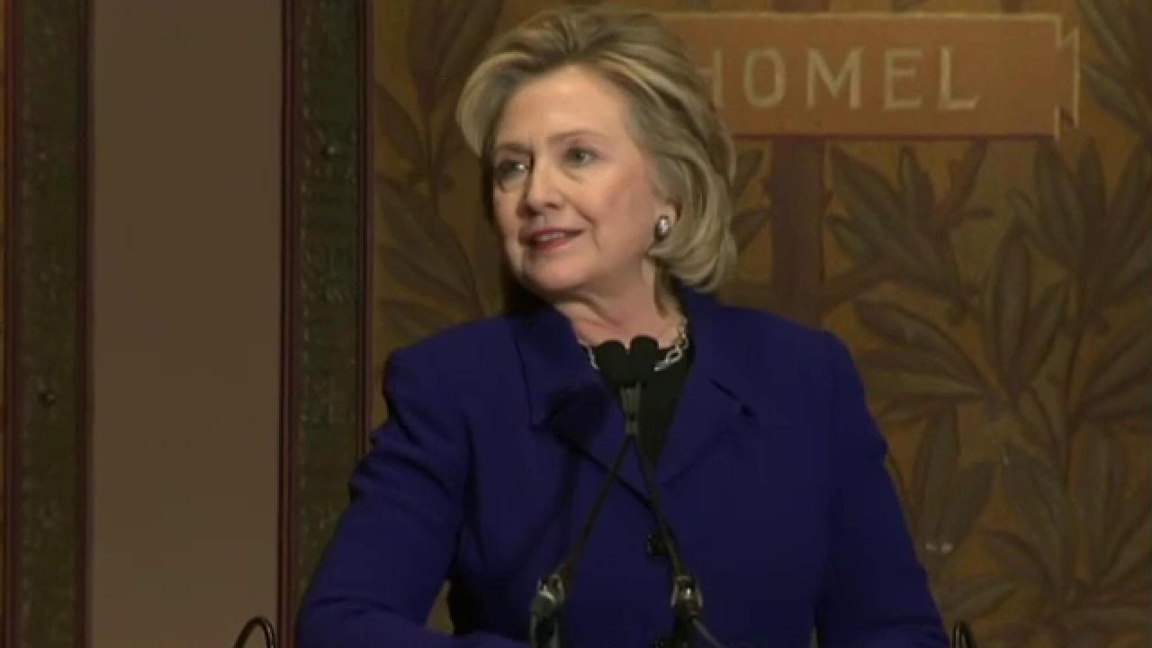Hillary's numbers stop 'defying gravity'