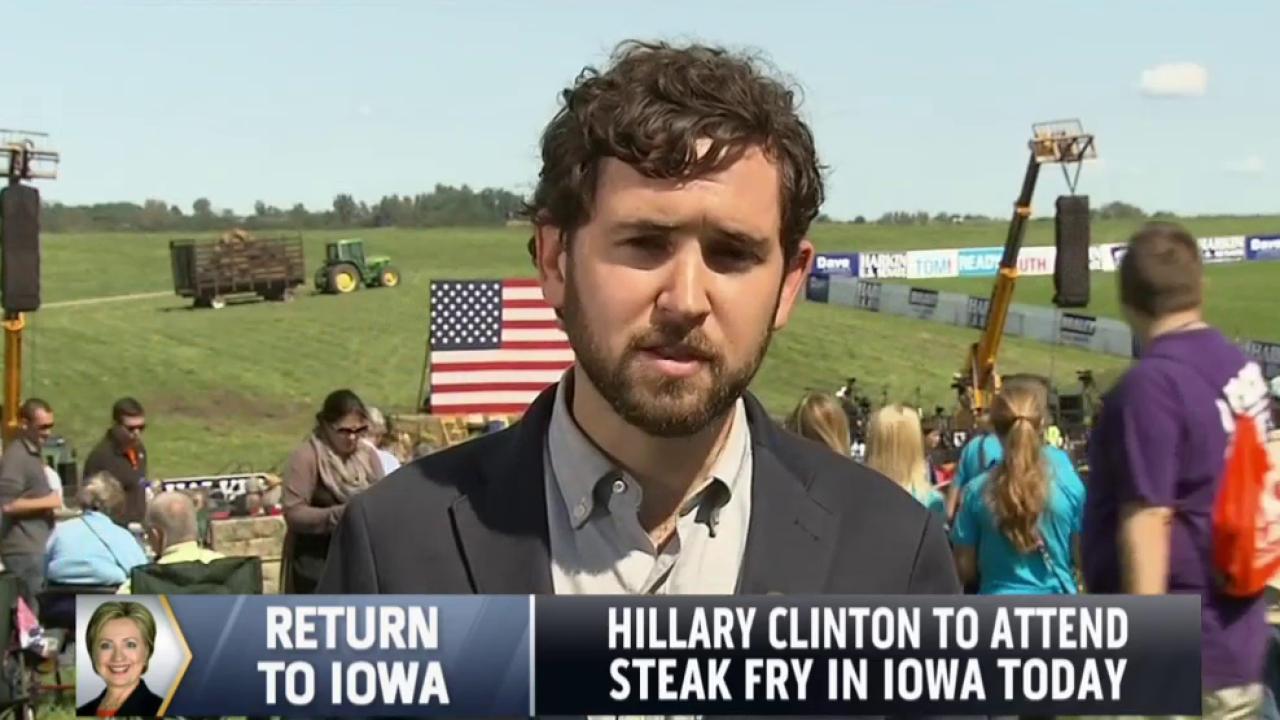Hillary Clinton to attend steak fry in Iowa