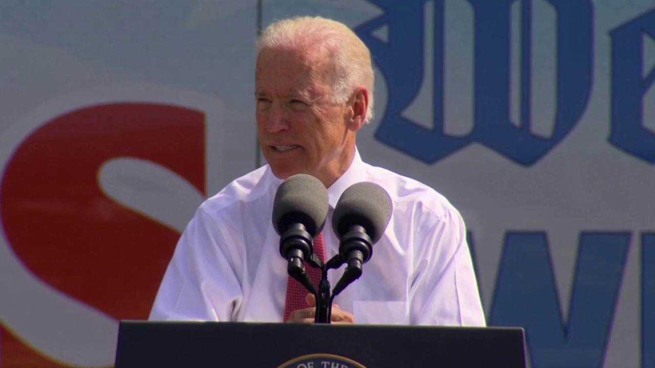 Mr. Biden goes to Iowa