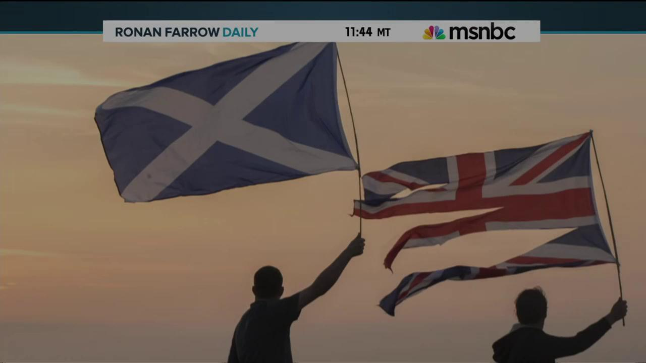 Great Scott! Record turnout as Scots vote