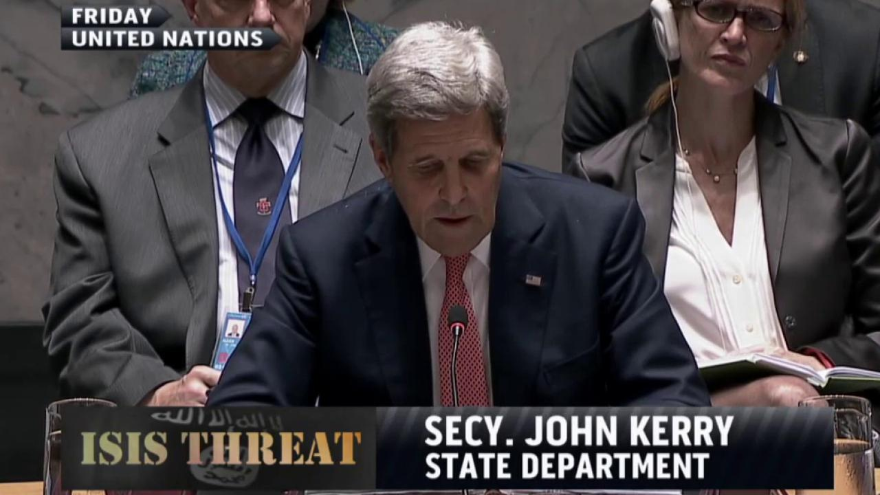Kerry: Iran has a role in fight against ISIS