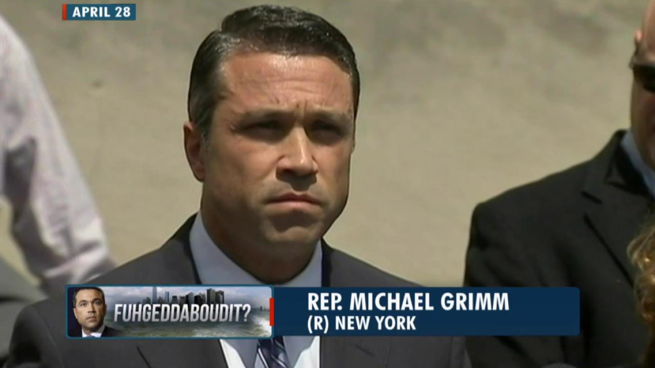 How do voters feel about Michael Grimm?