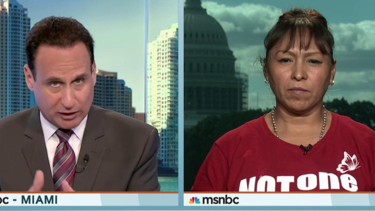 Undocumented mothers protest for reform