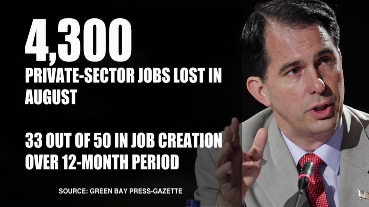 Burke: 'Gov. Walker is not getting the job...