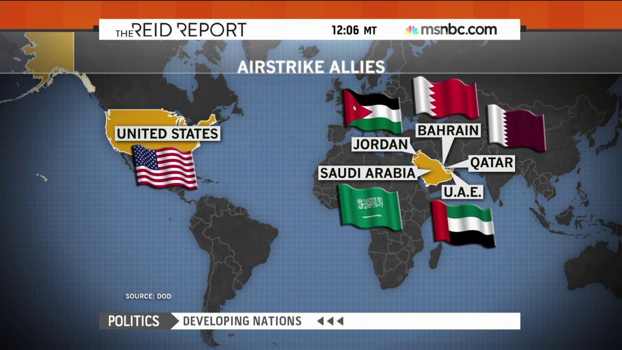 Arab allies fighting against ISIS is ...