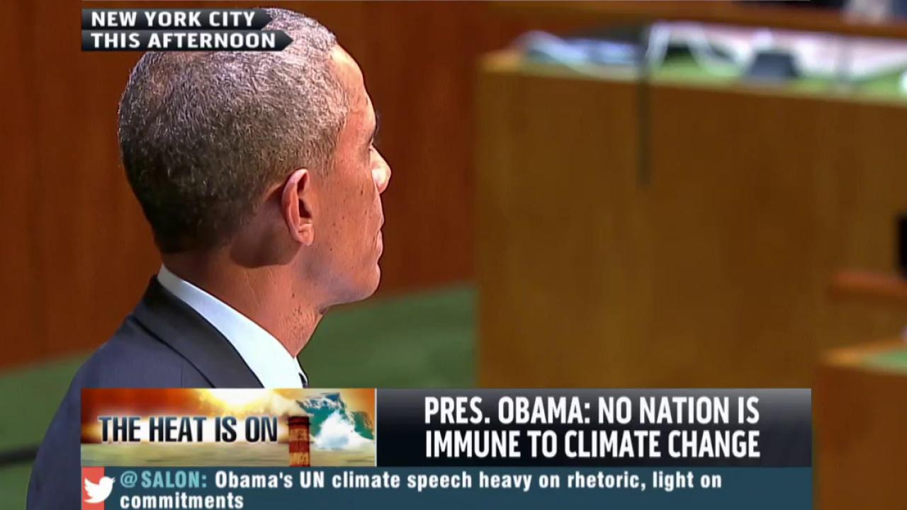 Is Obama an environmentalist?