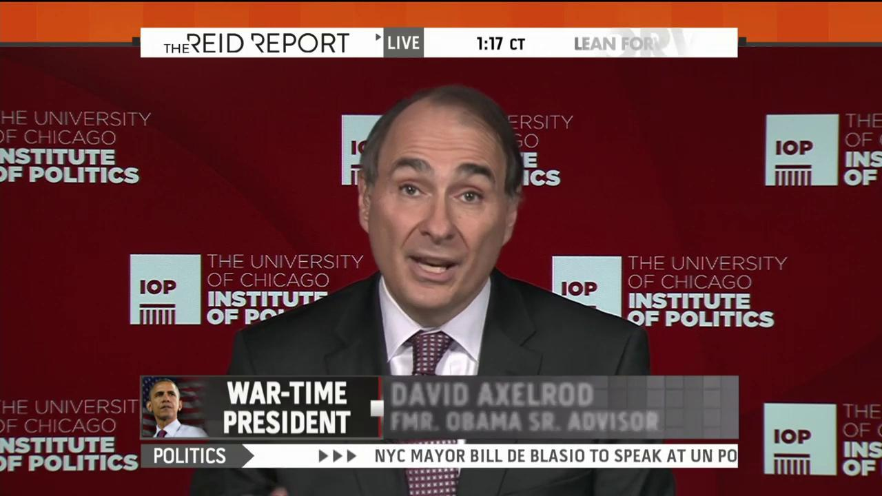Axelrod: Obama's been 'pretty wise' on ISIS