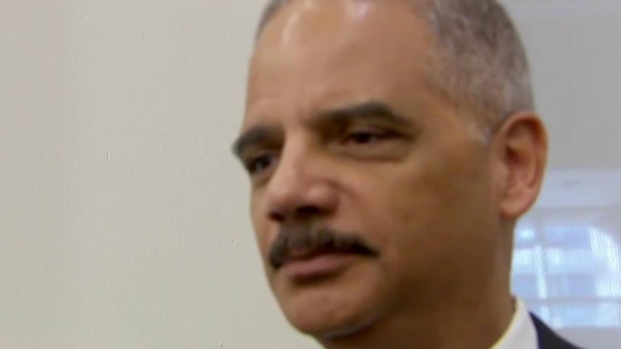 Why Eric Holder made his announcement now