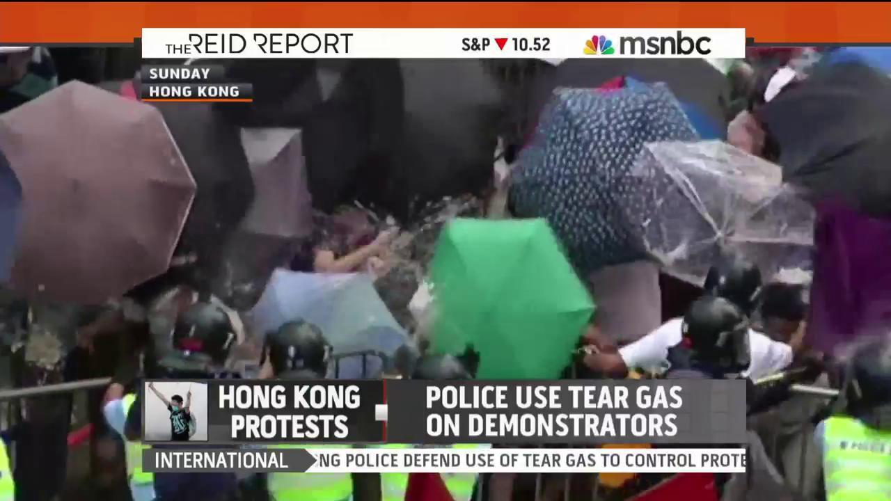 How will Beijing react to 'umbrella...