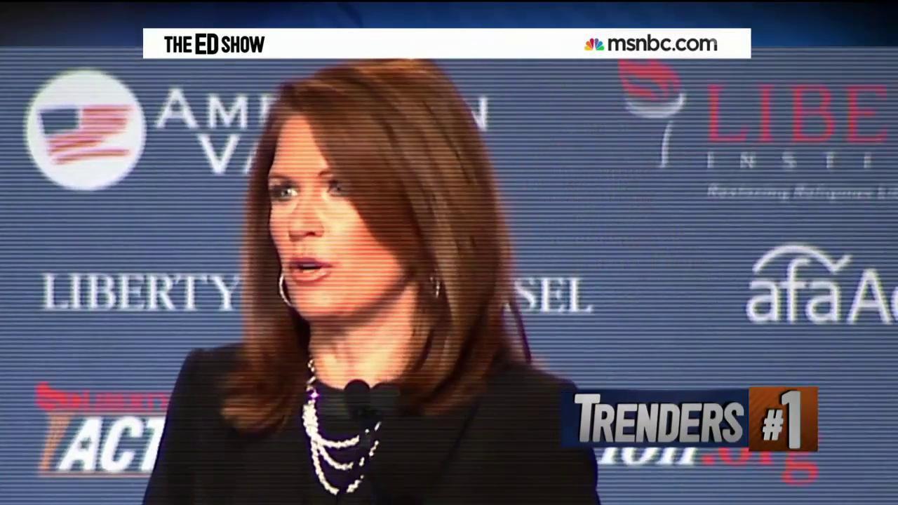 Bachmann calls for war on Islam