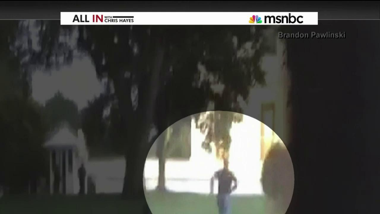 WH jumper made it as far as East Room: report