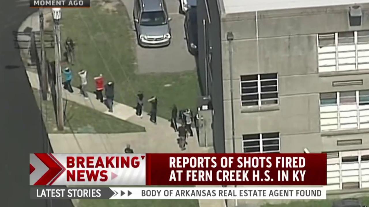Report: Shots fired at Kentucky high school