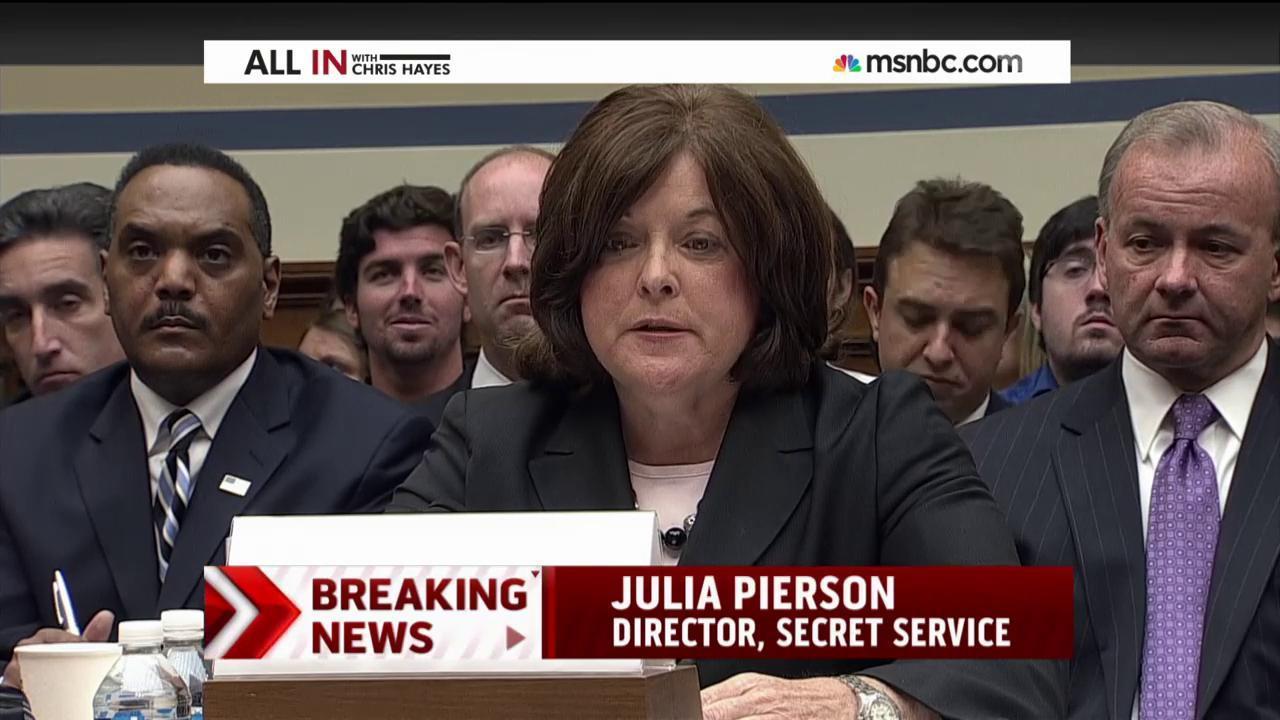 Secret Service director grilled at hearing
