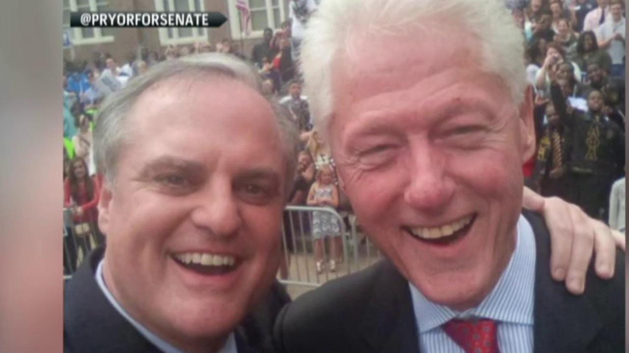 Can Bill Clinton save Arkansas Democrats?