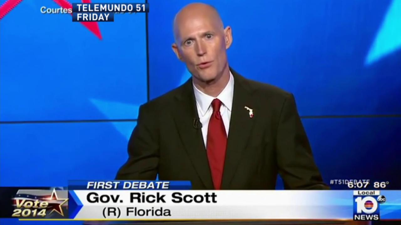 Rick Scott's 'Shady State' politics